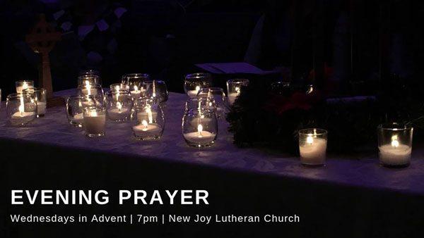 Evening Prayer for Advent