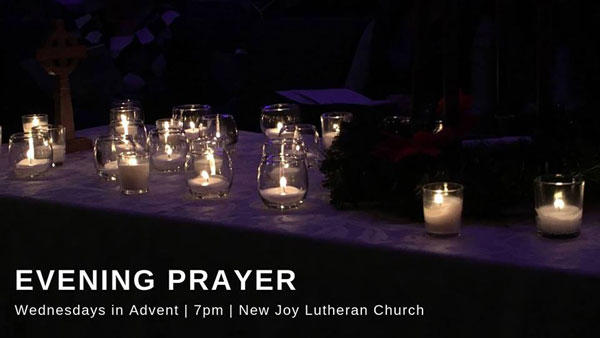 Evening Prayer for Advent