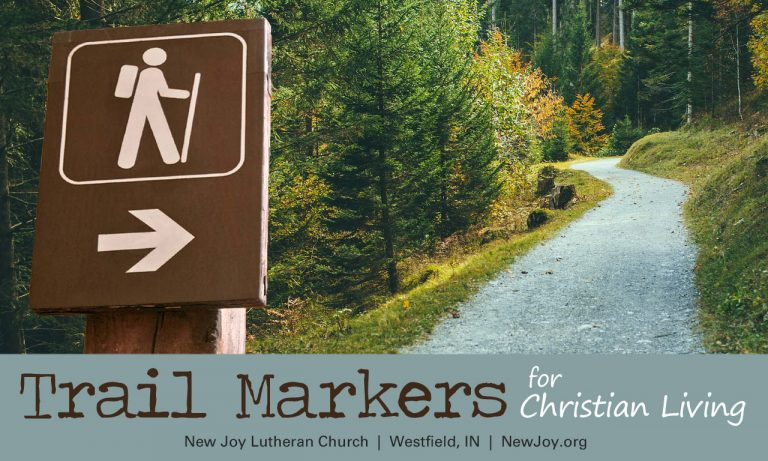 Trail Markers for Christian Living