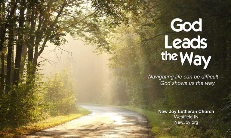 God Leads the Way