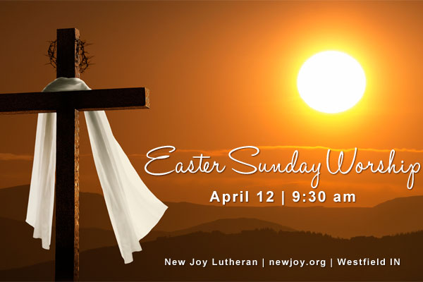 Easter Sunday Worship at 9:30 am