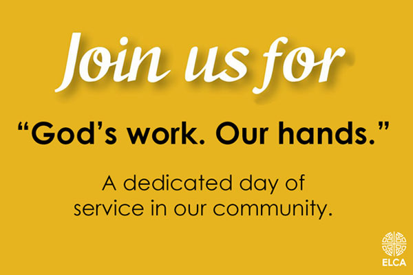 God's Work Our Hands September 13