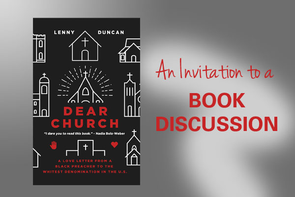 Dear Church book discussion
