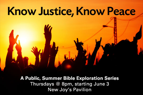 Bible Study: Know Justice, Know Peace