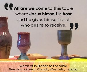 All are welcome to this table